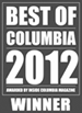 Best of Columbia 2012 Winner